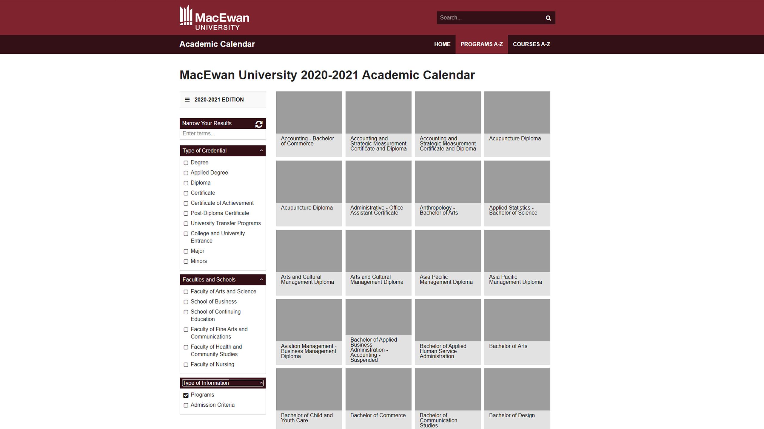 MacEwan CAT – Homepage